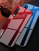halpa Puhelimen kuoret-Etui Käyttötarkoitus Huawei Huawei P20 / Huawei P20 Pro / Huawei P20 lite Iskunkestävä Takakuori Color Gradient Kova TPU / Karkaistu lasi