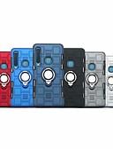 halpa Puhelimen kuoret-Etui Käyttötarkoitus Samsung Galaxy Galaxy A7(2018) / A8 2018 / A8+ 2018 Iskunkestävä / Sormuksen pidike Suojakuori Panssari Kova TPU / PC