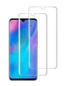 povoljno Zaštitnici zaslona za mobitel-HuaweiScreen ProtectorHuawei P30 Visoka rezolucija (HD) Prednja zaštitna folija 2 kom Kaljeno staklo