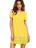 abordables Vestidos de Mujer-Mujer Elegante Línea A Vestido Un Color Mini