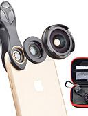 halpa Objektiivit ja tarvikkeet-Matkapuhelin Lens Laajakulmaobjektiivi / Makro-objektiivi lasi / Alumiiniseos 10X makro 35 mm 10 m 110 ° Sievä / Tyylikäs