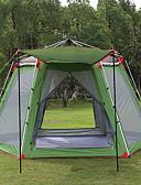 povoljno Ženski džemperi-Hewolf 8 osoba Obiteljski kamp šatori Vanjski Vjetronepropusnost Otporno na kišu Podesan za nošenje Dvaput Slojeviti Motka šator za kampiranje >3000 mm za Kampiranje / planinarenje / Speleologija