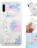 זול מגנים לטלפון-מגן עבור Samsung Galaxy Galaxy M10 (2019) / Galaxy M20(2019) / Galaxy M30(2019) נוזל זורם / שקוף / תבנית כיסוי אחורי אנימציה רך TPU