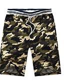 hesapli Erkek Pantolonları ve Şortları-Erkek Askeri İnce Chinos Pantolon - Desen Ordu Yeşili Haki Açık Gri XL XXL XXXL