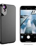 halpa Objektiivit ja tarvikkeet-Matkapuhelin Lens Pitkäpolttovälinen objektiivi / Laajakulmaobjektiivi lasi / ABS + PC 2X 10 mm 0.01 m 110 ° Kotelolla