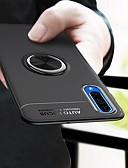 halpa Puhelimen kuoret-Etui Käyttötarkoitus Samsung Galaxy A6 (2018) / A6+ (2018) / Galaxy A7(2018) Iskunkestävä / Sormuksen pidike / Ultraohut Takakuori Yhtenäinen Pehmeä TPU / Metalli