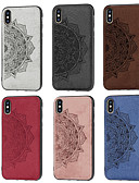 cheap Cellphone Case-Case For Samsung Galaxy Galaxy S10 Plus / Galaxy S10 E Pattern Back Cover Flower Soft Oxford Cloth for S9 / S9 Plus / Galaxy S10
