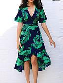 billiga Maxiklänningar-Dam Sofistikerat Elegant Mantel Klänning - Geometrisk Ovanför knäet
