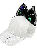 זול שמלות לבנות-מידה אחת שחור / ורוד מסמיק / פוקסיה כובעים ומצחיות כותנה פאייטים / פפיון / מסוגנן אחיד / סרוג פעיל / בסיסי / מתוק בנות ילדים / פעוטות