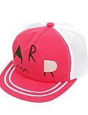 זול ילדים כובעים ומצחיות-מידה אחת תלתן / אודם / צהוב כובעים ומצחיות כותנה מסוגנן / רקום קולור בלוק / אותיות פעיל / בסיסי / מתוק בנים / בנות פעוטות