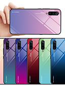 זול מגנים לטלפון-מגן עבור Xiaomi Xiaomi Pocophone F1 / Xiaomi Mi Max 3 / Xiaomi Mi 8 תבנית כיסוי אחורי מילה / ביטוי / צבע הדרגתי רך זכוכית משוריינת / Xiaomi Mi 6
