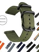 זול להקות Smartwatch-צפו בנד ל Gear S2 Classic / Samsung Galaxy Watch 42 / Samsung Galaxy פעיל Samsung Galaxy רצועת ספורט בד / ניילון רצועת יד לספורט