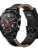 זול להקות Smartwatch-צפו בנד ל Huawei שעונים GT Huawei אבזם מודרני עור אמיתי רצועת יד לספורט