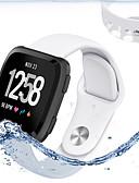 זול להקות Smartwatch-פשוט צבע מוצק wristband עבור fitbit לעומת ספורט רצועה סיליקון
