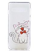 halpa Puhelimen kuoret-Etui Käyttötarkoitus Samsung Galaxy S9 / S9 Plus / S8 Plus Läpinäkyvä / Kuvio Takakuori Kissa Pehmeä TPU