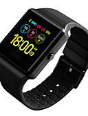 זול מקרה Smartwatch-DS124 גברים חכמים שעונים Android iOS Blootooth עמיד במים מסך מגע מוניטור קצב לב מודד לחץ דם ספורטיבי ECG + PPG מד צעדים מזכיר שיחות מד פעילות מעקב שינה