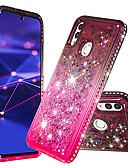 billige Mobilcovers-Etui Til Huawei P smart Stødsikker Bagcover Farvegradient Blødt TPU for P smart / Ære 10 Lite