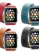 זול להקות Smartwatch-הרמס להקה כפולה הלהקה עבור סדרת שעונים תפוח חכם סדרת צפייה 4/3/2/1 רצועת היד