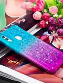 זול מגנים לטלפון-מגן עבור Huawei חכמים P חכם 2019 עמיד בזעזועים / נוזל זורם כיסוי אחורי צבע הדרגתי רך TPU