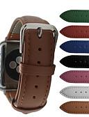 hesapli Smartwatch Bantları-Watch Band için Apple Watch Serisi 5/4/3/2/1 Apple Modern Toka Gerçek Deri Bilek Askısı