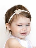 זול ילדים כובעים ומצחיות-מידה אחת פוקסיה / חאקי / כחול בהיר אביזרי שיער דמוי פרווה / תחרה סגנון פרחוני לב חִנָנִית בסיסי / מתוק בנות פעוטות