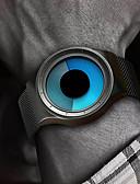 billige Lær-Herre Digital Watch Digital Rustfritt stål Svart / Sølv 30 m Vannavvisende Kreativ Hverdagsklokke Analog Glitrende Mote - Svart Sølv Ett år Batteri Levetid