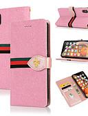 Недорогие Чехлы для телефонов-Кейс для Назначение Huawei Huawei Nova 3i / Huawei Nova 4 / Huawei P20 Кошелек / Бумажник для карт / со стендом Чехол Сияние и блеск Твердый Кожа PU / ТПУ