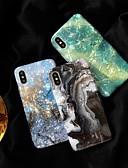 זול מגנים לאייפון-מגן עבור Apple iPhone XS / iPhone XR / iPhone XS Max תבנית כיסוי אחורי שיש רך TPU
