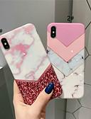 זול מגנים לאייפון-מגן עבור Apple iPhone XS / iPhone XR / iPhone XS Max IMD / תבנית כיסוי אחורי שיש רך TPU