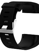 זול להקות Smartwatch-צפו בנד ל Fitbit Surge פיטביט רצועת ספורט סיליקוןריצה רצועת יד לספורט