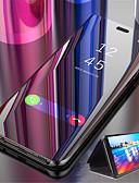 hesapli iPhone Kılıfları-Apple iphone xr iphone xs için kılıf lüks ayna deri çevirme montaj tutucu akıllı cep telefonu kılıfı için iphone 6 6 s 6 s artı 6 artı 7 8 7 artı 8 artı x xs 5 5 s se