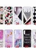 זול מגנים לטלפון-מגן עבור Samsung Galaxy A6 (2018) / A6+ (2018) / Galaxy A7(2018) עמיד בזעזועים כיסוי אחורי שיש רך TPU