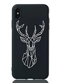 זול מגנים לאייפון-מגן עבור Apple iPhone XS / iPhone XR / iPhone XS Max עמיד בזעזועים / תבנית כיסוי אחורי חיה רך TPU