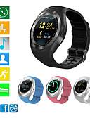 זול ז'קטים-Bluetooth y1s חכם לצפות relogio אנדרואיד smartwatch טלפון GSM GSM שיחה מרחוק מידע המצלמה להציג מד צעדים