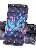 זול מגנים לאייפון-מארז iPhone xs iPhone xs מקס מקרה טלפון pu חומר עור 3D צבוע דפוס תבנית מקרה עבור iPhone xr x 8 פלוס 7 פלוס 8 7 6 פלוס 6 ועוד 6 6