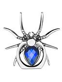 billiga Stativ och hållare-metall spindel bling finger ringen hållaren 360 rotera diamant stent