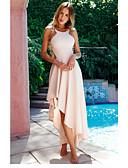 זול סטים של ביגוד לתינוקות-כתפיה מקסי גב חשוף, אחיד - שמלה נדן בתולת ים \חצוצרה מתוחכם אלגנטית בגדי ריקוד נשים