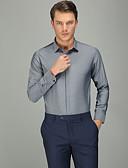זול חולצות-אחיד עסקים חולצה - בגדי ריקוד גברים אפור