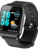 povoljno Digitalni satovi-z02 pametni sat žene krvni tlak puls monitor poruka poziv podsjetnik smartwatch za ios i android