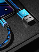 cheap Smartwatch Bands-CaseMe Type-C Cable Magnetic Charger Cable Phone Fast Charging LED 1.0m(3Ft) Nylon Braided for Samsung / Huawei / Sony / Xiaomi / OPPO / Vivo