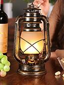 זול מחזיקים ומרכבים-סגנון חלוד / בקתה עיצוב חדש מנורת שולחן עבור חדר שינה / פנימי מתכת 220V