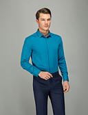 זול חולצות-אחיד עסקים חולצה - בגדי ריקוד גברים תלתן
