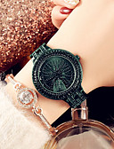 זול שעונים-בגדי ריקוד נשים שעון מכני קווארץ מתכת אל חלד זוהר בחושך אנלוגי אופנתי - סגול ירוק זהב ורד
