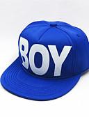 זול סטים של ביגוד לבנים-מידה אחת פול / שחור / אודם כובעים ומצחיות כותנה מסוגנן אחיד / אותיות וינטאג' / פעיל / בסיסי בנים / בנות ילדים / פעוטות
