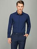 זול חולצות-אחיד עסקים חולצה - בגדי ריקוד גברים כחול ים