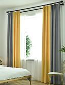 זול מטען כבלים ומתאמים-ארופאי Blackout שני פנאלים וִילוֹן חדר שינה   Curtains
