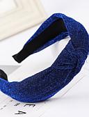 זול לבוש ראש לנשים-בגדי ריקוד נשים בסיסי סגנון חמוד בד יום יומי\קז'ואל - אחיד / כותנה