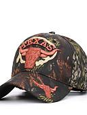 رخيصةأون قبعات الرجال-كل الفصول أبيض أحمر كاكي قبعة البيسبول طباعة زهور للجنسين قطن أكريليك,عمل أساسي