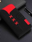זול מגנים לאייפון-מארז iPhone XR / iPhone XS מקס מגנטי / עם מעמד / shockproof מלא גוף המקרים גיאומטרי דפוס קשה עור pu עבור iPhone x / xs / 8 פלוס / 8/7 פלוס / 7/6 / 6s פלוס