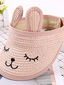 זול ילדים כובעים ומצחיות-מידה אחת בז' / כחול נייבי / חאקי כובעים ומצחיות מסוגנן / רקום אחיד / אנימציה פעיל / בסיסי / מתוק בנים ילדים / פעוטות